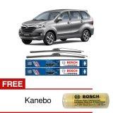 Jual Bosch Sepasang Wiper Mobil Toyota Avanza Frameless New Clear Advantage 20 16 2 Buah Set Free Kanebo Bosch Indonesia