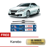 Beli Bosch Sepasang Wiper Frameless New Clear Advantage Mobil Toyota Camry Xv50 26 18 2 Pcs Set Free Kanebo Bosch Di Indonesia
