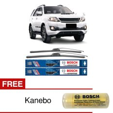 Bosch Sepasang Wiper Mobil Toyota Fortuner Frameless New Clear Advantage 21