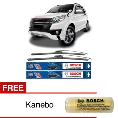 Spesifikasi Bosch Sepasang Wiper Mobil Toyota Rush Frameless New Clear Advantage 21 18 2 Buah Set Free Kanebo Bosch Lengkap Dengan Harga