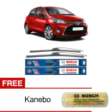 Beli Bosch Sepasang Wiper Frameless New Clear Advantage Mobil Toyota Yaris 24 14 2Buah Set Hitam Free Kanebo Bosch Indonesia