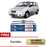 Toko Bosch Sepasang Wiper Mobil Hyundai Trajet Frameless New Clear Advantage 26 22 2 Buah Set Free Kanebo Bosch Bosch