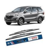 Bosch Sepasang Wiper Kaca Mobil Avanza Xenia Advantage 16 20 2 Buah Set Hitam Bosch Diskon