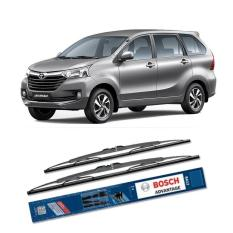 Harga Bosch Sepasang Wiper Kaca Mobil Avanza Xenia Advantage 16 20 2 Buah Set Hitam Dan Spesifikasinya