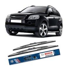 Jual Beli Bosch Sepasang Wiper Kaca Mobil Chevrolet Captiva Advantage 24 16 2 Buah Set Hitam Indonesia