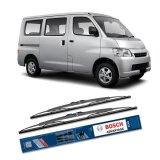 Harga Bosch Sepasang Wiper Kaca Mobil Daihatsu Grand Max Advantage 19 19 2 Buah Set Hitam Baru Murah