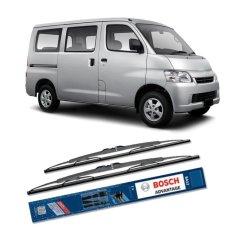 Bosch Sepasang Wiper Kaca Mobil Daihatsu Grand Max Advantage 19