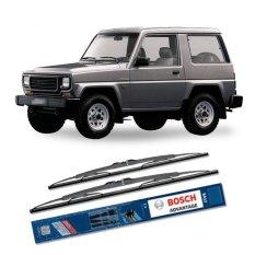 Spesifikasi Bosch Sepasang Wiper Kaca Mobil Daihatsu Rocky Advantage 19 17 2 Buah Set Hitam Yang Bagus