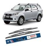 Toko Bosch Sepasang Wiper Kaca Mobil Daihatsu Terios Advantage 18 21 2 Buah Set Hitam Online Terpercaya