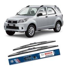 Spesifikasi Bosch Sepasang Wiper Kaca Mobil Daihatsu Terios Advantage 18 21 2 Buah Set Hitam Lengkap Dengan Harga