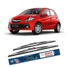 Bosch Sepasang Wiper Kaca Mobil Honda Brio Advantage 22
