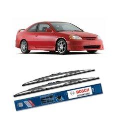 Beli Bosch Sepasang Wiper Kaca Mobil Honda Civic Es 2000 2005 Advantage 20 18 2 Buah Set Hitam Bosch Online