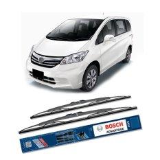 Review Bosch Sepasang Wiper Kaca Mobil Honda Freed Gb 2008 On Advantage 26 14 2 Buah Set Hitam Bosch Di Indonesia