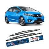 Spesifikasi Bosch Sepasang Wiper Kaca Mobil Honda Jazz Advantage 26 14 2 Buah Set Hitam Beserta Harganya