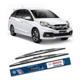 Beli Bosch Sepasang Wiper Kaca Mobil Honda Mobilio Advantage 22 16 2 Buah Set Hitam Online