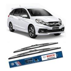 Toko Bosch Sepasang Wiper Kaca Mobil Honda Mobilio Advantage 22 16 2 Buah Set Hitam Terdekat