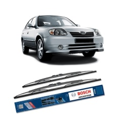Toko Bosch Sepasang Wiper Kaca Mobil Hyundai Avega Advantage 20 18 2 Buah Set Hitam Terdekat