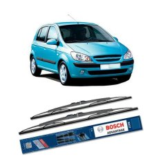 Dapatkan Segera Bosch Sepasang Wiper Kaca Mobil Hyundai Getz 2003 On Advantage 22 14 2 Buah Set Hitam
