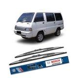 Spesifikasi Bosch Sepasang Wiper Kaca Mobil Mitsubishi Colt T120 Ss Advantage 16 16 2 Buah Set Hitam