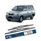 Spek Bosch Sepasang Wiper Kaca Mobil Mitsubishi Kuda Advantage 20 19 2 Buah Set Hitam Indonesia