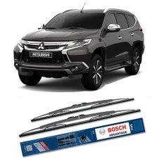 Diskon Bosch Sepasang Wiper Kaca Mobil Mitsubishi Pajero Sport Advantage 20 20 2 Buah Set Hitam Bosch