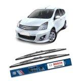 Promo Bosch Sepasang Wiper Kaca Mobil Nissan Grand Livina L10 Advantage 24 14 2 Buah Set Hitam
