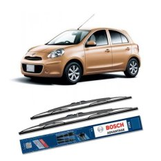 Review Toko Bosch Sepasang Wiper Kaca Mobil Nissan March K13 Advantage 21 14 2 Buah Set Hitam Online