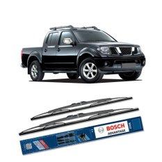 Jual Bosch Sepasang Wiper Kaca Mobil Nissan Navara D40 2009 On Advantage 24 19 2 Buah Set Hhitam Bosch Online