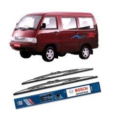 Toko Bosch Sepasang Wiper Kaca Mobil Suzuki Carry Advantage 17 17 2 Buah Set Hitam Lengkap Indonesia