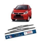 Bosch Sepasang Wiper Kaca Mobil Suzuki Karimun Estilo Advantage 21 12 2 Buah Set Hitam Asli