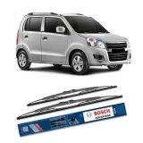 Spesifikasi Bosch Sepasang Wiper Kaca Mobil Suzuki Karimun Wagon R Advantage 20 18 2 Buah Set Hitam Dan Harga