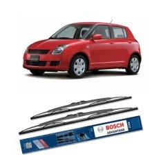 Bosch Sepasang Wiper Kaca Mobil Suzuki Swift 2008-on Advantage 21
