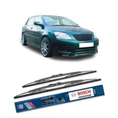 Bosch Sepasang Wiper Kaca Mobil Toyota Corolla Altis E12 2005-2008 Advantage 24