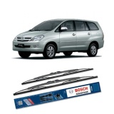 Bosch Sepasang Wiper Kaca Mobil Toyota Kijang Innova 2004 On Advantage 24 16 2 Buah Set Hitam Indonesia Diskon