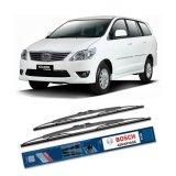 Beli Bosch Sepasang Wiper Kaca Mobil Toyota Kijang Innova Advantage 16 24 2 Buah Set Hitam Lengkap