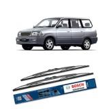 Bosch Sepasang Wiper Kaca Mobil Toyota Kijang Kapsul 1996 2004 Advantage 20 19 2 Buah Set Hitam Murah