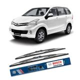Jual Bosch Sepasang Wiper Kaca Mobil New Toyota Avanza Advantage 21 14 2 Buah Set Hitam Branded