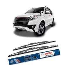 Beli Bosch Sepasang Wiper Kaca Mobil Toyota Rush 2006 On Advantage 21 18 2 Buah Set Hitam Murah Indonesia