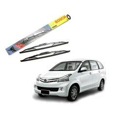 Cuci Gudang Bosch Sepasang Wiper Mobil New Toyota Avanza Advantage 21 14 Inch