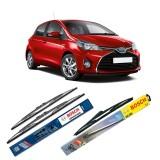 Jual Bosch Wiper Advantage Depan Belakang Mobil Toyota Yaris Set 24 14 H307 12 3 Buahset Hitam Bosch Asli