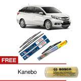 Bosch Wiper Depan Belakang Kaca Mobil Honda Mobilio Advantage 22 16 H354 3 Buah Set Free Kanebo Indonesia Diskon 50