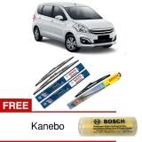 Jual Bosch Wiper Depan Belakang Kaca Mobil Suzuki Ertiga Advantage 21 14 H307 3 Buah Set Free Kanebo Bosch Ori