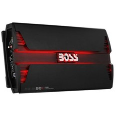 BOSS Audio PT3000 Phantom 3000 Watt, 2 Channel, 2/4 Ohm Stable Class A/B, Full Range, Bridgeable, MOSFET Car Amplifier with Remote Subwoofer Control - intl
