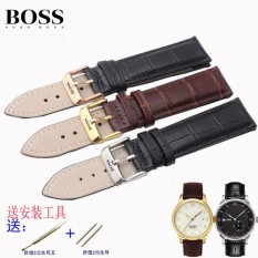 BOSS wave private's watch takes in general use leather watch band Jing steel needle Men's Nice Watch - intl