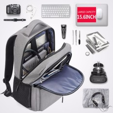 Spesifikasi Bostanten 15 6 Laptop Backpack Pria Travel Backpack Beberapa Kompartemen Backpack Shoulder Bag Intl Dan Harganya