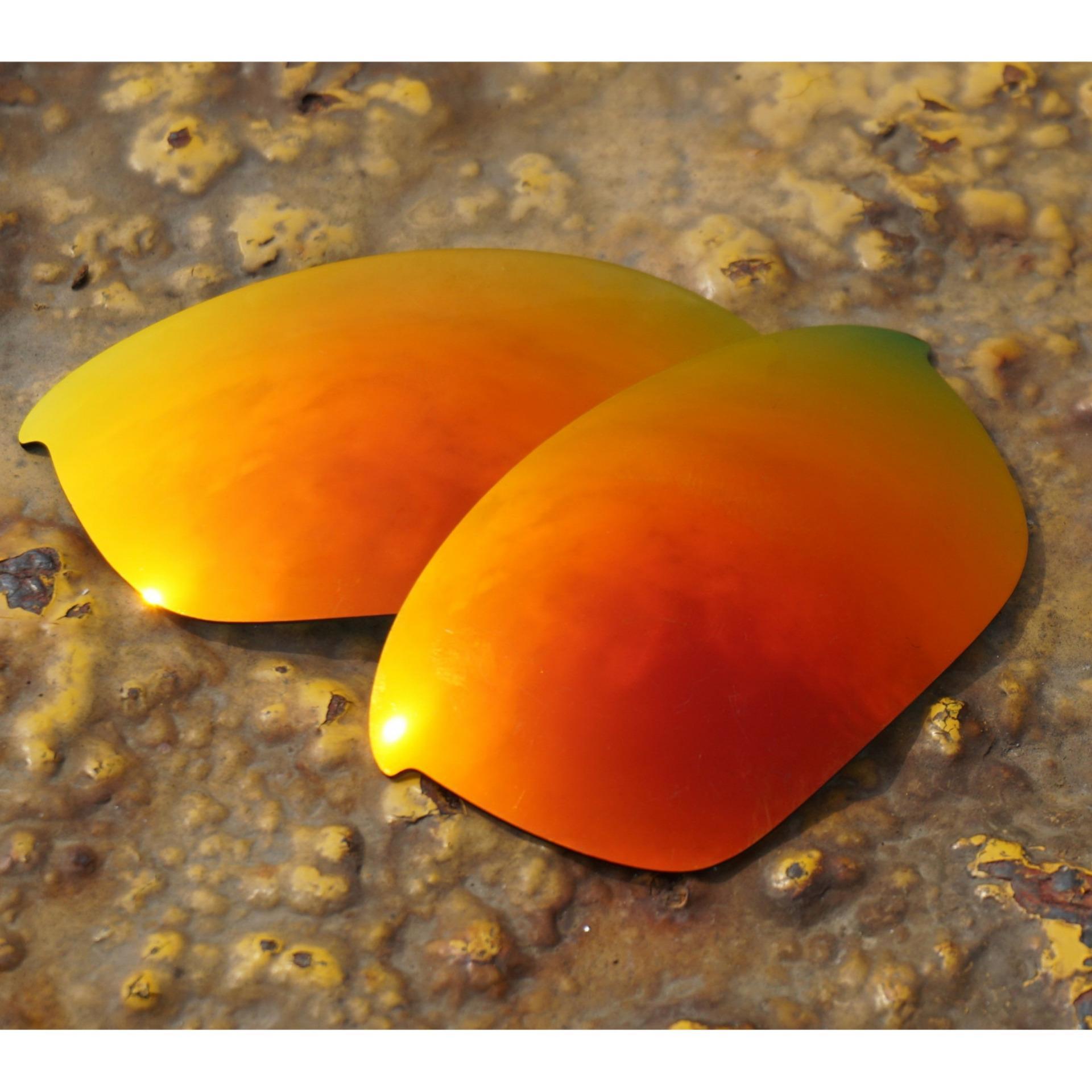 Bottle-Feed Penggantian Lensa untuk Setengah Jaket 2.0 Kacamata Terpolarisasi Api Merah-Intl