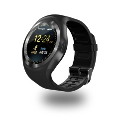 Bounabay Merek Pintar Jam Tangan Sepanjang Mendukung Nanosim & TF Kartu dengan WhatsApp dan Facebook Kebugaran Bisnis Smartwatch untuk Android- internasional