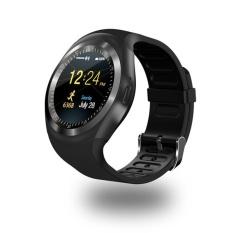 Bounabay Merek Cerdas Menonton Putaran Dukungan NanoSIM & TF Kartu With WhatsApp) dan Facebook Kebugaran Bisnis Smartwatch For Ponsel Android -Intl