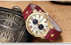 Spek Bounabay Merek Watch Quartz Watch Men Casual Leather Strap Bisnis Jam Tangan Militer Sport Relogio Pria Montre Homme Curren 8192 Intl Tiongkok