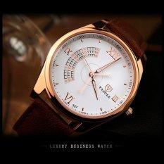 Bounabay Watch Tiga Tangan Korea Versi Kedua High-end Bisnis Desain Kuarsa Watch Relojes Hombre-Intl